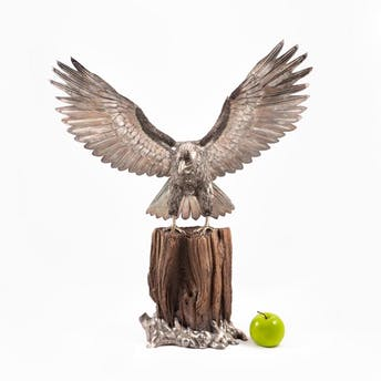 """BUCCELLATI STERLING SILVER FIGURE OF AN EAGLE, 28""""_52440a_8d8a29ea89f5be8_lg.jpeg"""