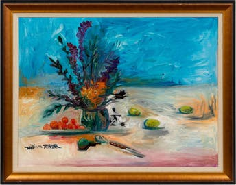 WILLIAM TOLLIVER, TABLETOP STILL LIFE WITH FLOWERS_53997a_8d8a29a9cbfdcda_lg.jpeg