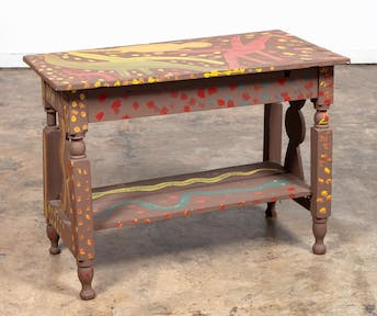 MOSE TOLLIVER, OUTSIDER ART, PAINTED TABLE, SIGNED_54510a_8d8a29b3d0800e6_lg.jpeg