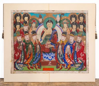 THANGKA, PAINTING ON PAPER, MOUNTED TO CANVAS_64780a_8d8a82f8c179dcf_lg.jpeg