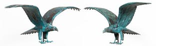 PAIR, BARRY NORLING, LARGE PATINATED COPPER EAGLES_66168a_8d8a9f649a97349_lg.jpeg